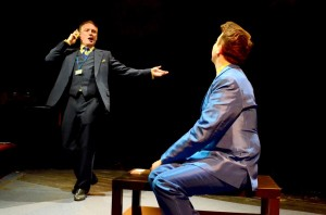 As Ricardo in BALLO with Alan Richardson as Oscar