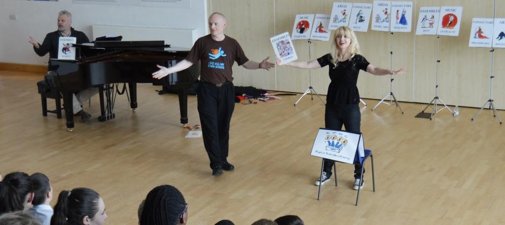 Opera Blocks in Salford with Mark Tinkler & Pamela Hay.